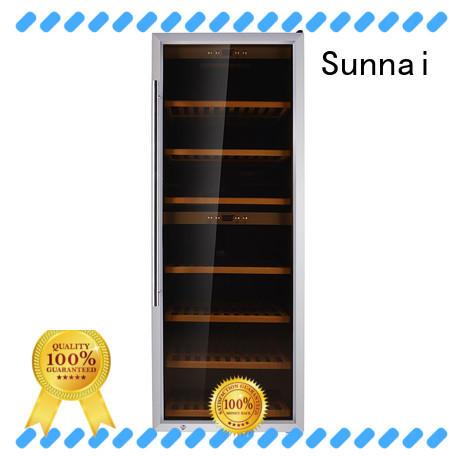 Sunnai professional free standing wine refrigerator series for indoor