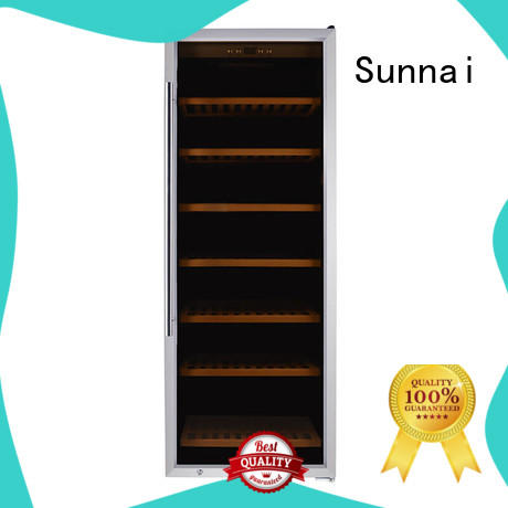 Sunnai online wine storage refrigerator wholesale for indoor