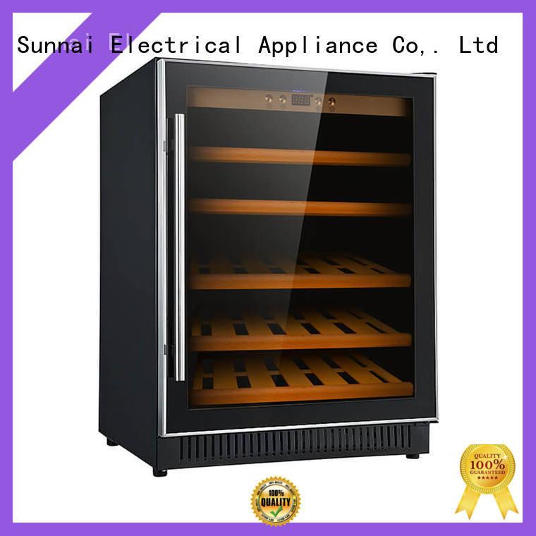 Sunnai cooler under counter wine fridge cooler for indoor