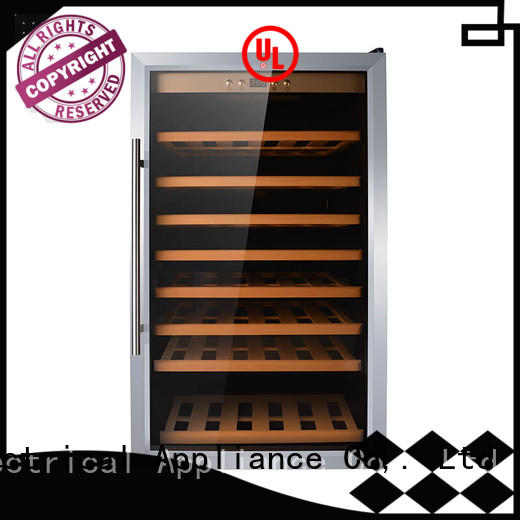 Sunnai high quality dual zone freestanding wine cooler wholesale for indoor