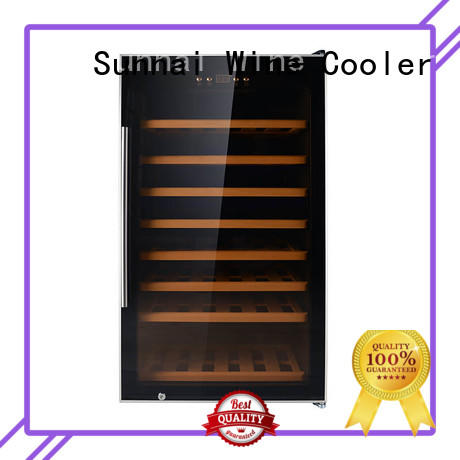 black wine bottle cooler black supplier for home