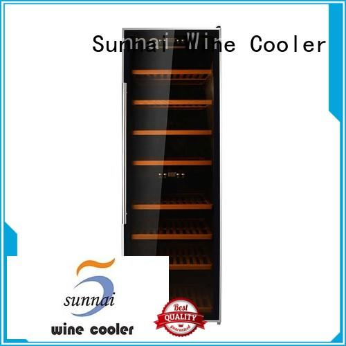 Sunnai durable freestanding wine fridge series for home