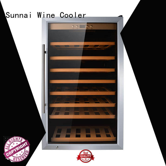 Sunnai high quality single zone wine fridge series for work station