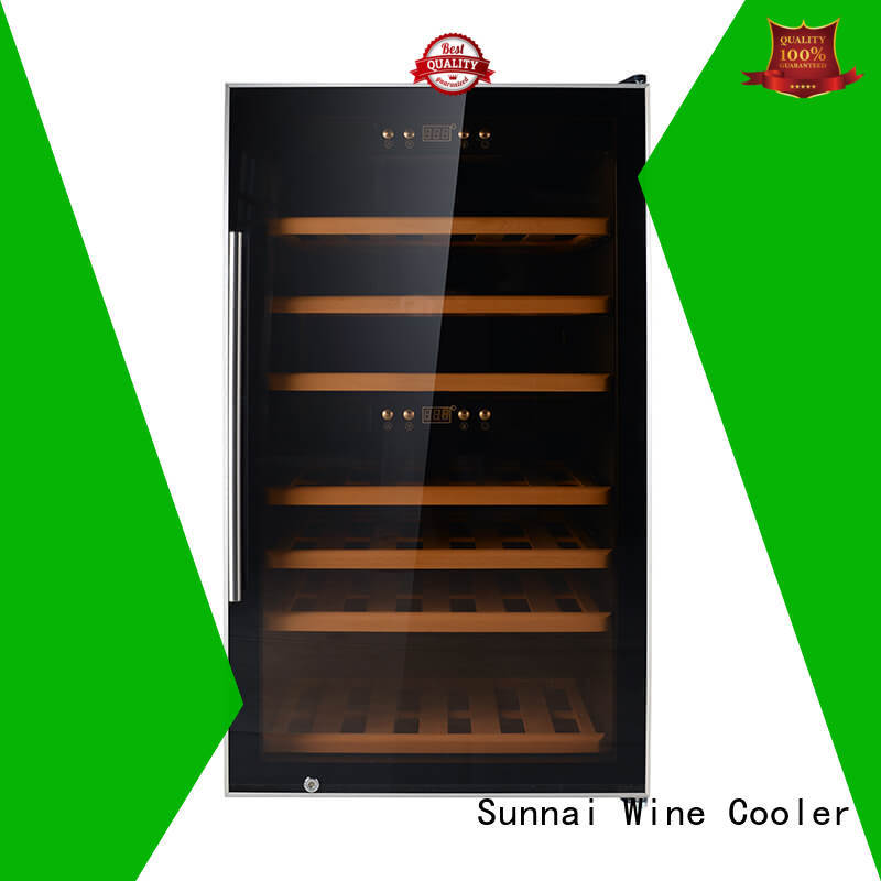 Sunnai safety single zone wine cooler series for shop