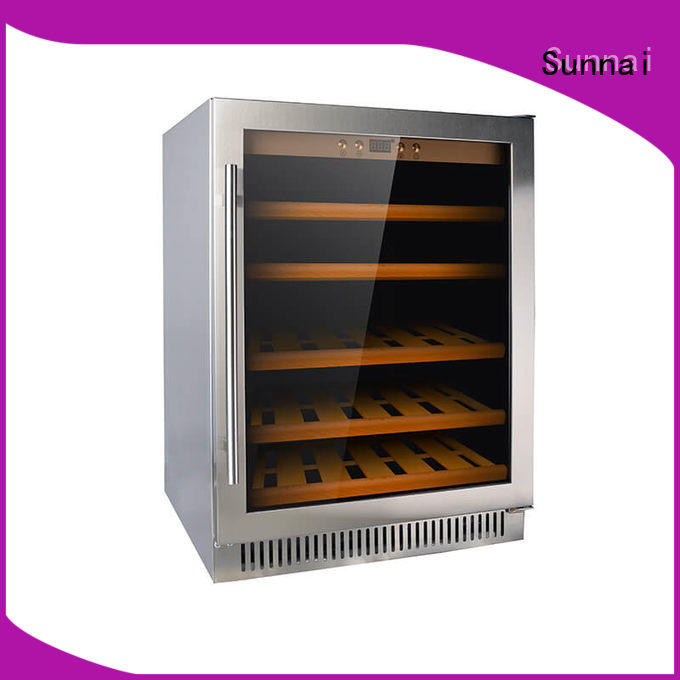 Sunnai stainless under counter wine cooler cooler for shop