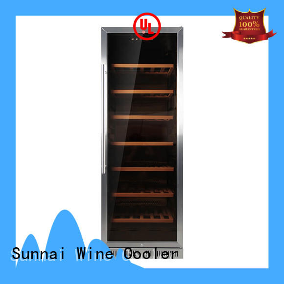 online under counter dual zone wine fridge compressor manufacturer for work station