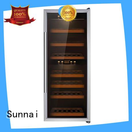 Sunnai durable single zone wine fridge supplier for shop