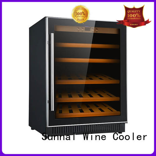 Sunnai high quality single zone wine fridge wholesale for home