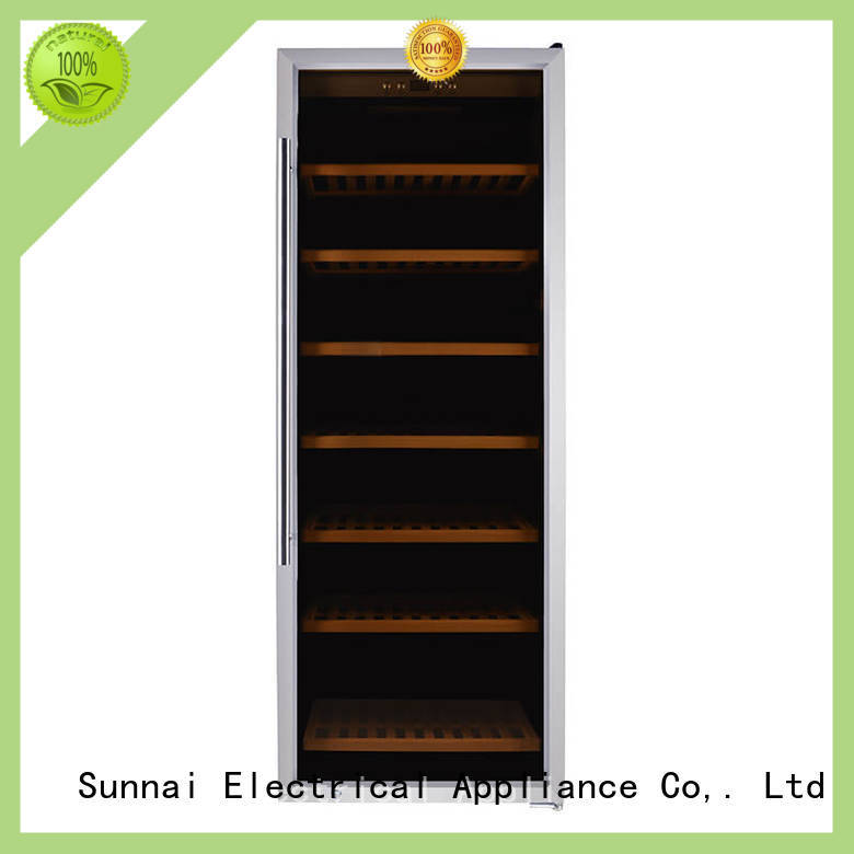 Sunnai size dual zone wine fridge series for shop