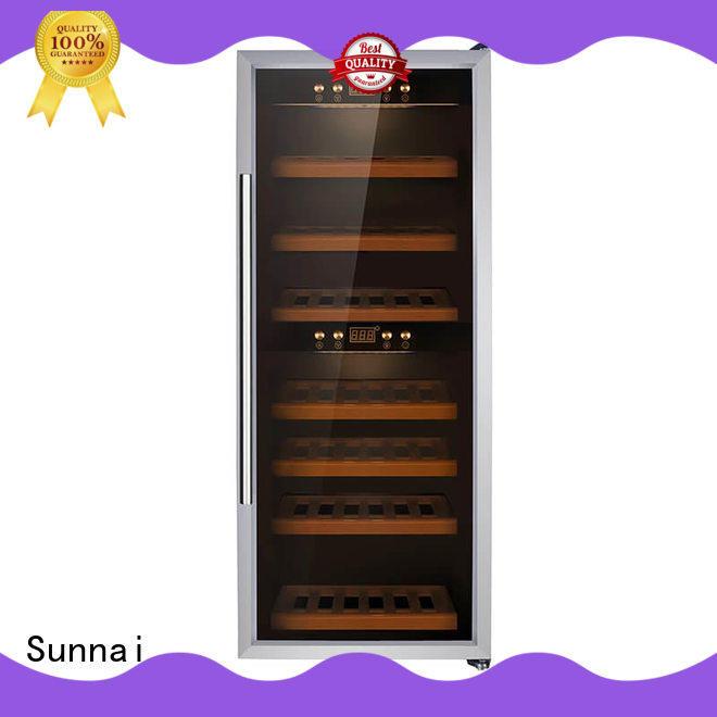 Sunnai single single zone wine fridge wholesale for shop