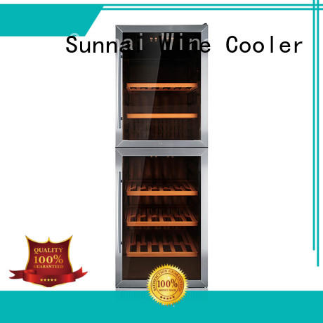 double under counter wine refrigerator steel cooler for work station