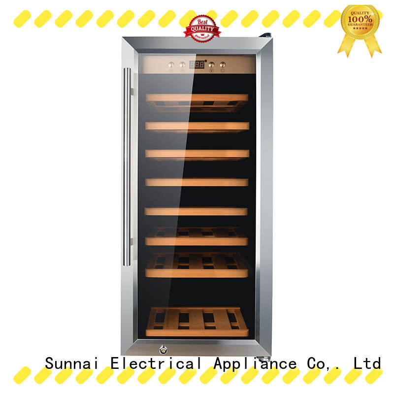 wine dual zone wine cooler zone supplier for home