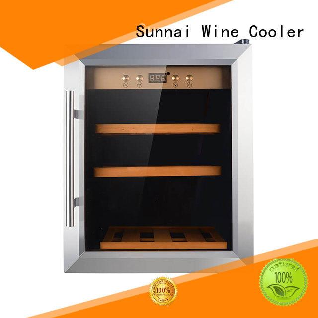 black wine bottle fridge freestanding manufacturer for home