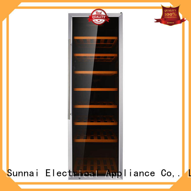 safety stainless steel door wine cooler table wholesale for work station