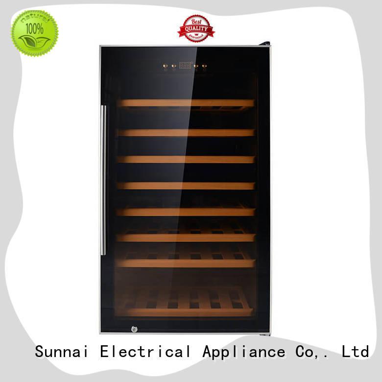 black wine cooler fridge table wholesale for indoor