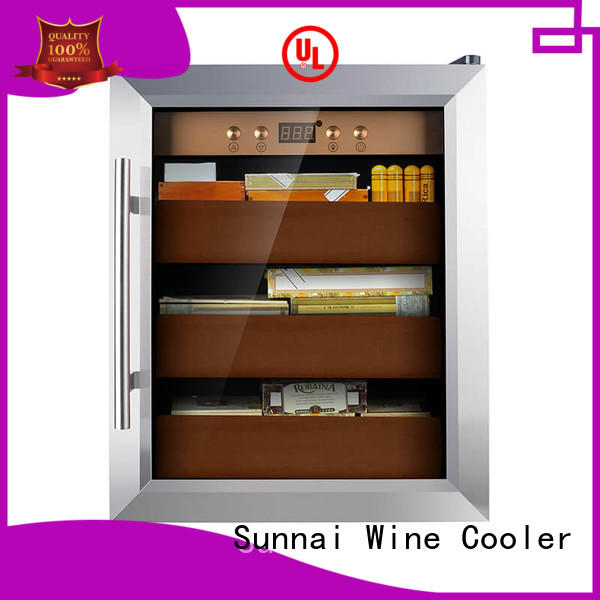 online cigar humidor cooler wood for home Sunnai