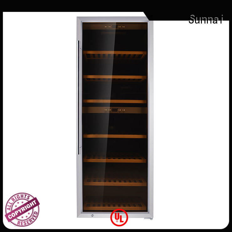 Sunnai single freestanding wine cooler refrigerator for indoor