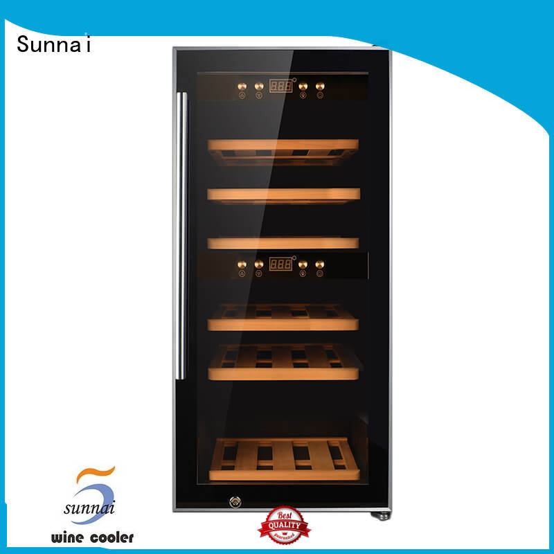 Sunnai professional wine storage refrigerator series for shop