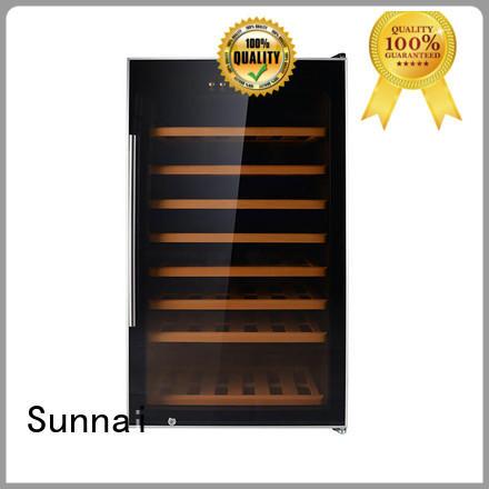 Sunnai door wine storage fridge supplier for indoor