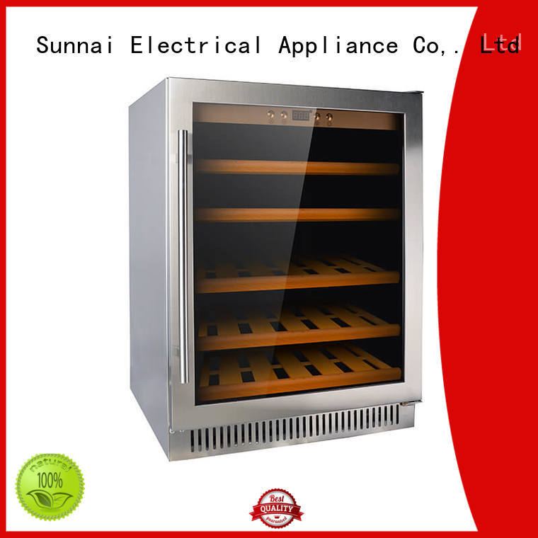 high quality under counter wine fridge stainless compressor for work station
