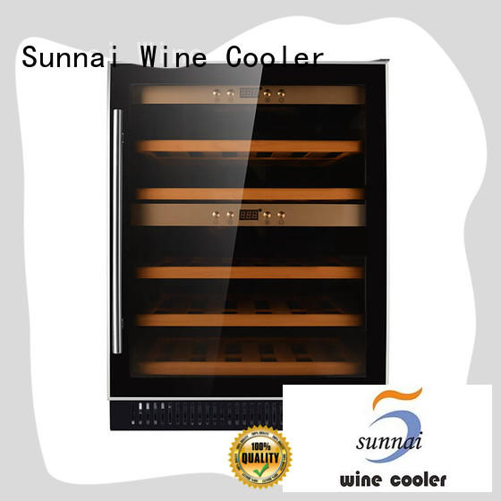 single single zone wine fridge refrigerator supplier for work station