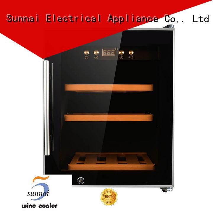 Sunnai compressor wine cooler refrigerator product for work station