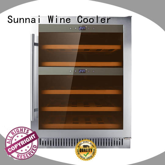 Sunnai online compressor wine coolers supplier for work station