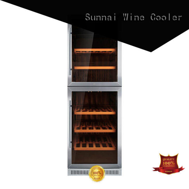 Sunnai online single zone wine fridge cooler for home