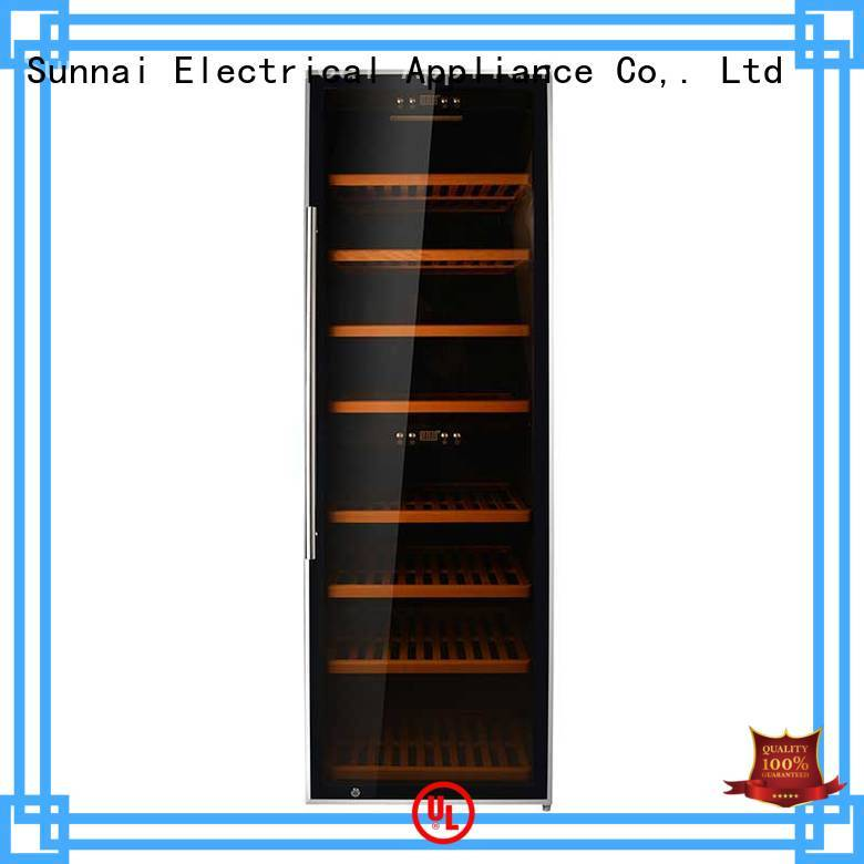 Sunnai compressor wine bottle fridge product for home