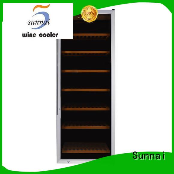 black single zone wine refrigerator fridge manufacturer for indoor
