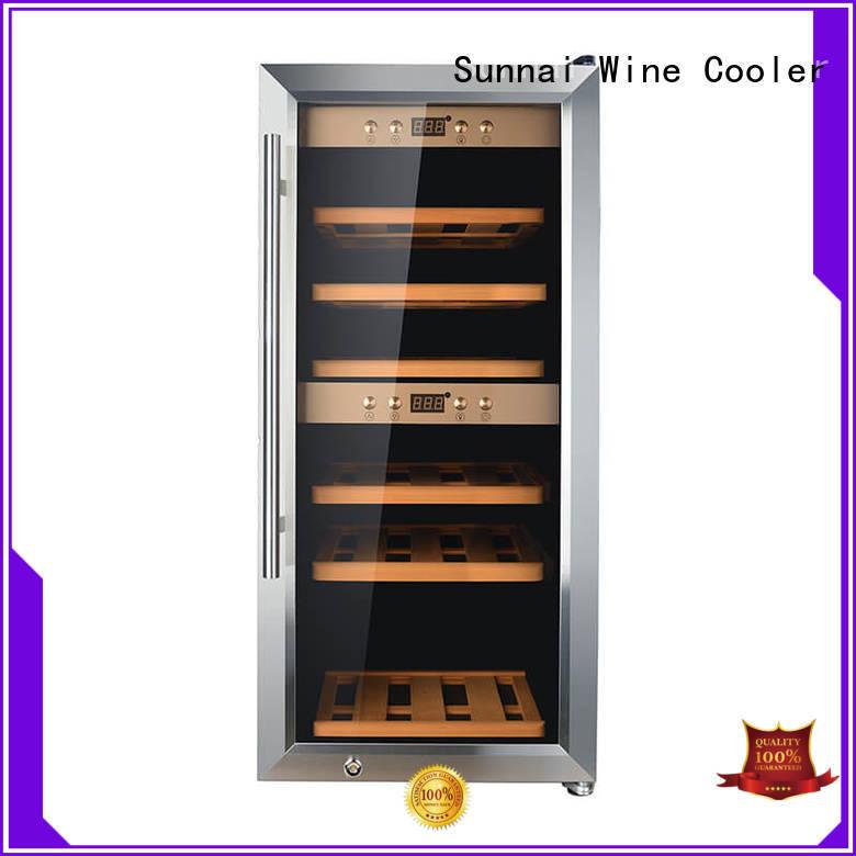 durable single zone wine fridge freestanding series for indoor