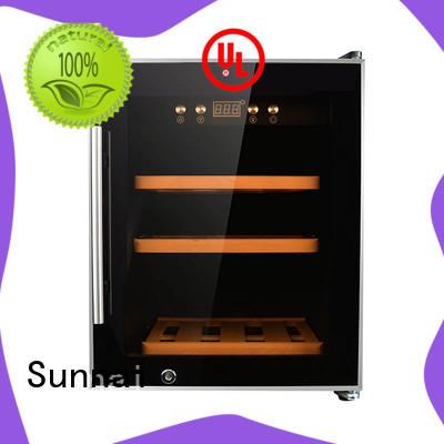 Sunnai steel wine cellar fridge series for home