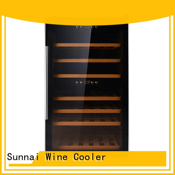 Sunnai professional stainless steel door wine cooler wholesale for home