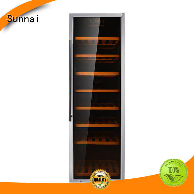 Sunnai high quality wine bottle cooler refrigerator for indoor
