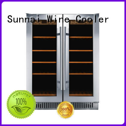 Sunnai single under counter wine fridge compressor for work station