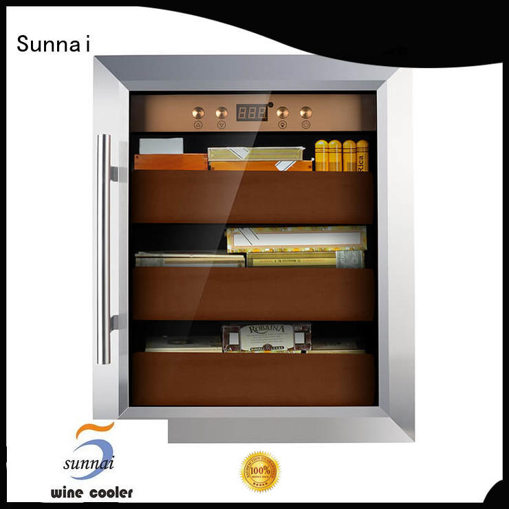 Sunnai cigar cigar fridge manufacturer for home