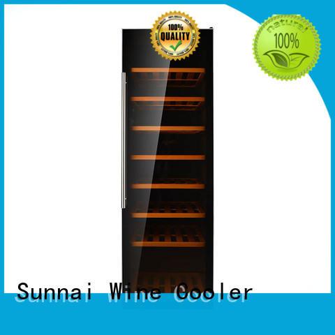 Sunnai safety freestanding wine cooler manufacturer for shop