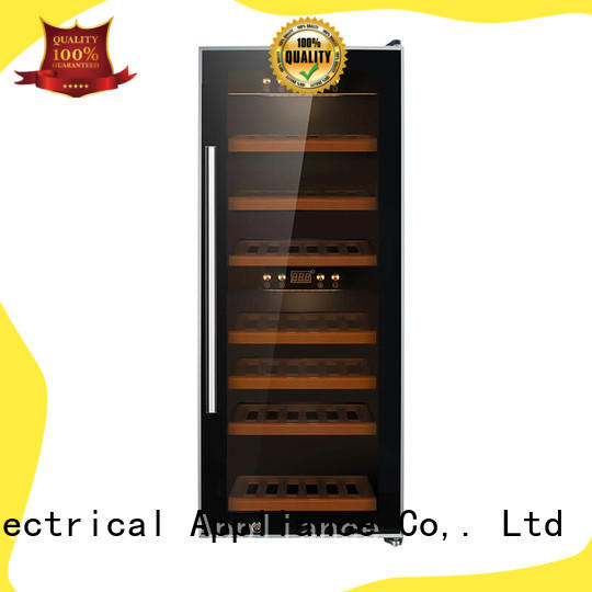 online dual zone freestanding wine cooler table supplier for home