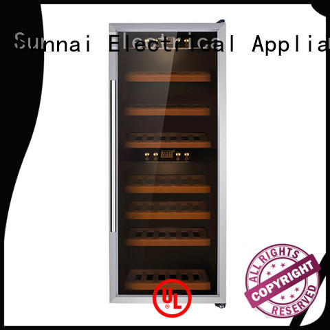 online compressor wine cooler dual zone table manufacturer for shop