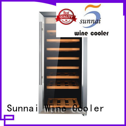 Sunnai high quality wine storage refrigerator wholesale for shop