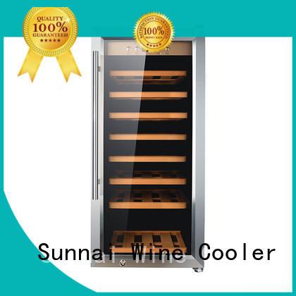 single dual zone wine fridge panel wholesale for work station