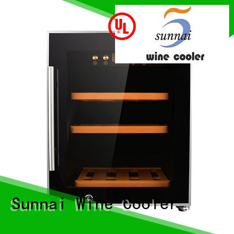 Sunnai zone dual zone wine refrigerator wholesale for home