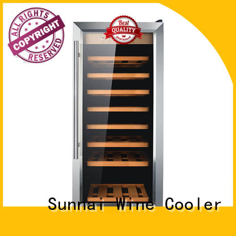 Sunnai double dual zone wine refrigerator refrigerator for home