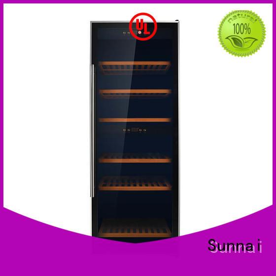 Sunnai durable wine storage fridge wholesale for home