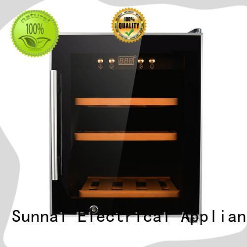 Sunnai steel wine cooler fridge manufacturer for shop