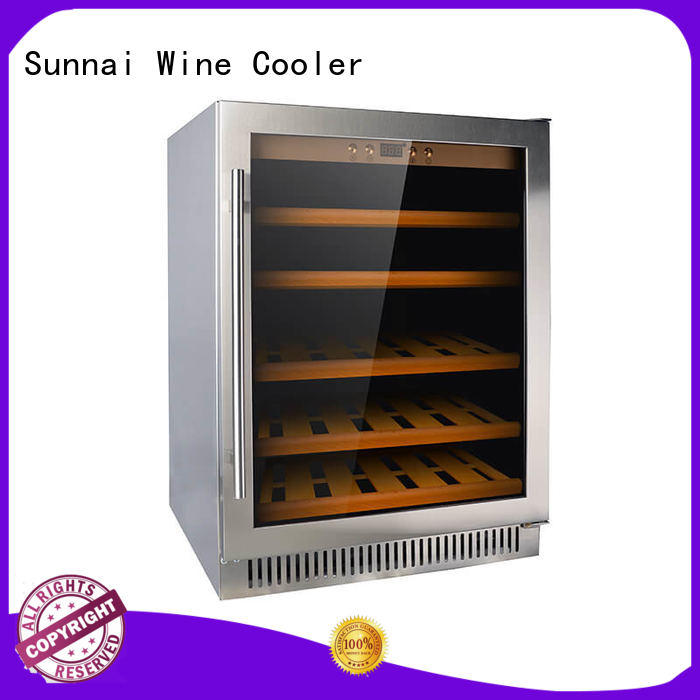 Sunnai stainless compressor wine coolers cooler for work station
