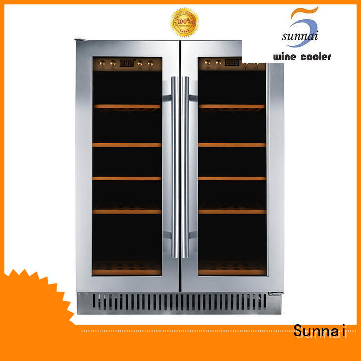 safety single zone wine fridge black series for shop