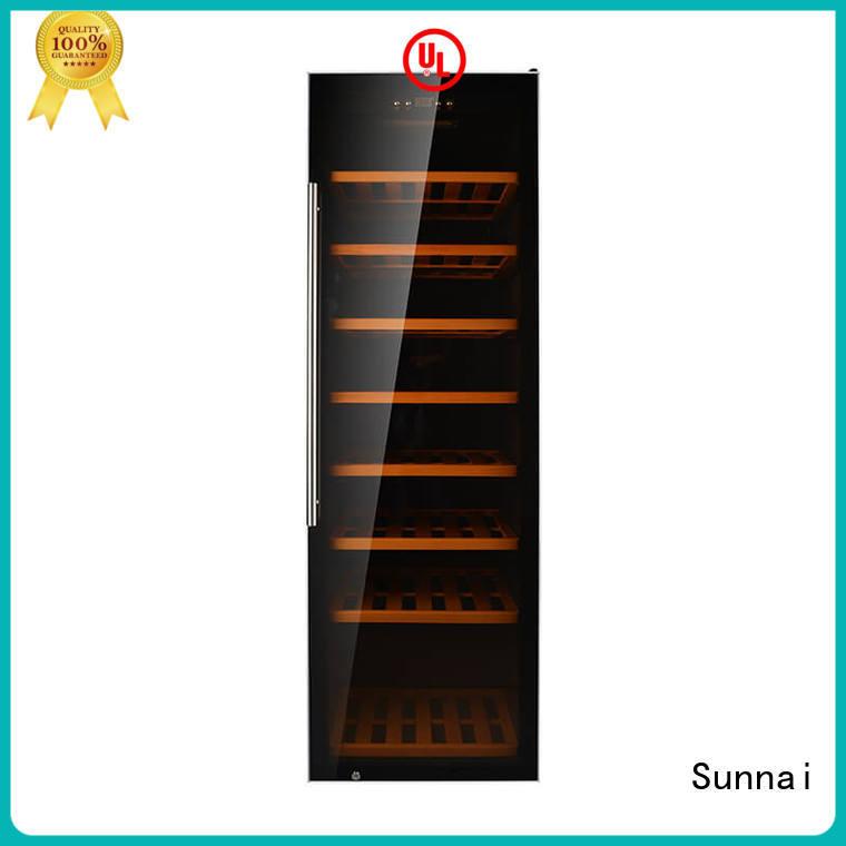 Sunnai professional dual zone wine fridge manufacturer for home