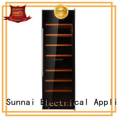 Sunnai durable freestanding wine cooler supplier for work station