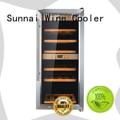 high quality freestanding wine fridge smaller manufacturer for work station